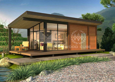 Hotel Use Contemporary Modular Homes , Customized Color Modern Modular House